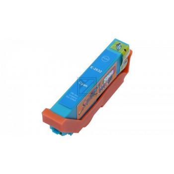 Ersatz Chip Patrone kompatibel zu Epson 26XL, T2632 Cyan