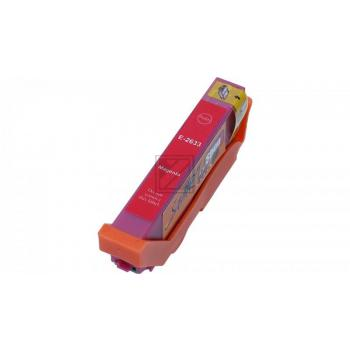 Ersatz Chip Patrone kompatibel zu Epson 26XL, T2633 Magenta