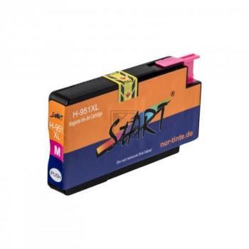 Ersatz Chip Druckerpatrone kompatibel zu HP 951XL Magenta (Rot)