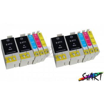 10 Ersatz Chip Patronen kompatibel zu Epson 27XL, T2711XL, T2712XL, T2713XL, T2714XL