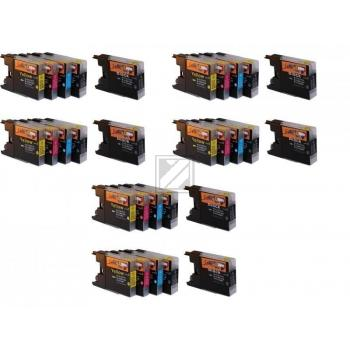 30 Compatible Ink Cartridges to Brother LC1240  (BK, C, M, Y)