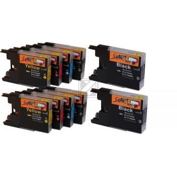 10 Ersatz Patronen kompatibel zu Brother LC1280 XL