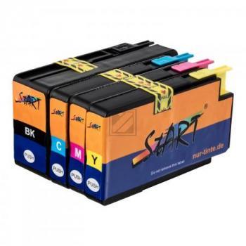 Start - 4 Ersatz Chip Druckerpatronen kompatibel zu HP 953XL BK - Black (Schwarz) / HP953 XL CMY - Cyan/ Magenta/ Yellow (Farben) für HP OfficeJet Pro 7740WF, 8200 Series, 8710, 8715, 8720 Series, 8730, 8740