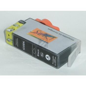 Ersatz Chip Tintenpatrone kompatibel zu HP 920XL Schwarz - Neu mit Füllstandsanzeige