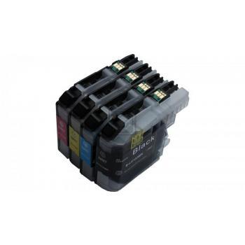 4 XL Ersatz Chip Patronen kompatibel zu Brother LC-123BK XL Schwarz, LC-123C XL Cyan, LC-123M XL Magenta, LC-123Y XL Gelb