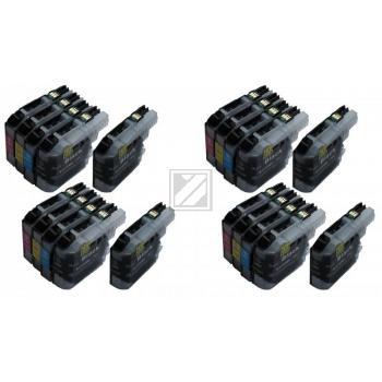 20 XL Ersatz Chip Patronen kompatibel zu Brother LC-123BK XL Schwarz, LC-123C XL Cyan, LC-123M XL Magenta, LC-123Y XL Gelb (8444)