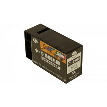 Ersatz CHIP Tintenpatrone kompatibel zu Canon PGI-1500XL Schwarz