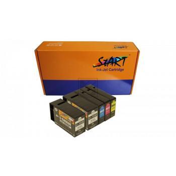 5 Compatible Ink Cartridges to Canon PGI-1500 (XL)  (BK, C, M, Y)