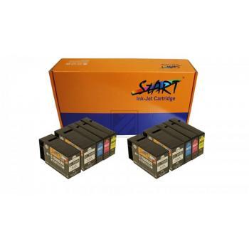 10 Ersatz CHIP Tintenpatronen kompatibel zu Canon PGI-1500XL Schwarz, Cyan, Magenta, Gelb
