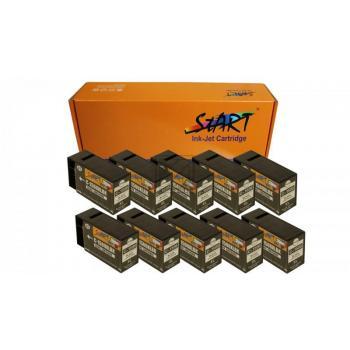 Nur BK! 10 Ersatz CHIP Tintenpatronen kompatibel zu Canon PGI-1500XL Schwarz
