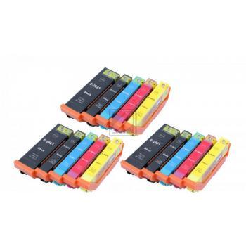 15 Ersatz Chip Patronen kompatibel zu Epson 26XL, T2621, T2631, T2632, T2633, T2634, T2636