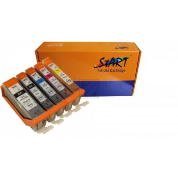 5 Compatible Ink Cartridges to Canon PGI-570 / CLI-571  (BK, PHBK, C, M, Y) XL