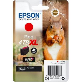 Epson Tintenpatrone rot HC (C13T04F54010, 478XL)
