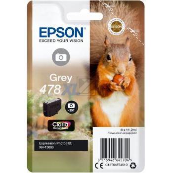 Epson Tintenpatrone grau HC (C13T04F64010, 478XL)