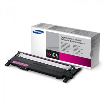 Samsung Toner-Kit magenta (CLT-M406S/ELS, M406) Qualitätsstufe: D