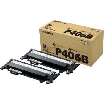 HP Toner-Kit 2x schwarz 2-er Pack (SU374A)