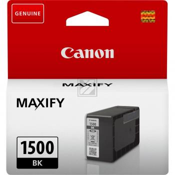 Canon Tintenpatrone schwarz (9218B001, PGI-1500BK)