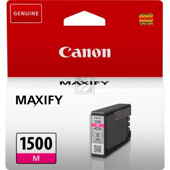 Canon Tintenpatrone magenta (9230B001, PGI-1500M)