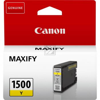 Canon Tintenpatrone gelb (9231B001, PGI-1500Y)