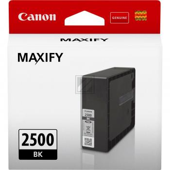 PGI2500BK CANON MB5050 TINTE BLACK ST 9290B001 Standard Kapazitaet