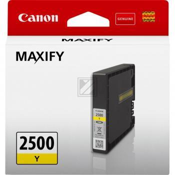 PGI2500Y CANON MB5050 TINTE YELLOW ST 9303B001 Standard Kapazitaet