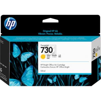 HP Tintenpatrone gelb HC (P2V70A, 730)