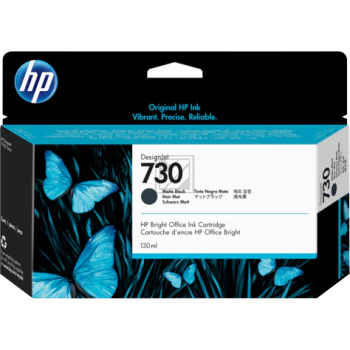 HP Tintenpatrone schwarz matt HC (P2V71A, 730)
