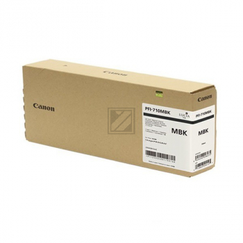 Canon Tintenpatrone schwarz matt HC plus (2353C001, PFI-710MBK)