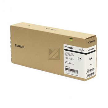 Canon Tintenpatrone schwarz HC plus (2354C001AA, PFI-710BK)