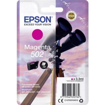 Epson Tintenpatrone magenta (C13T02V34010)