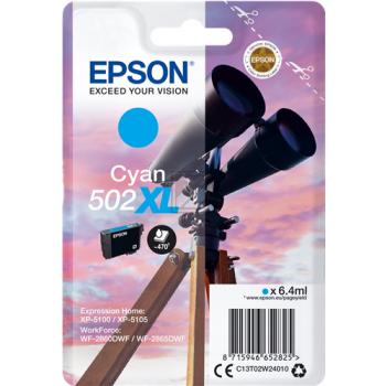 Epson Tintenpatrone cyan HC (C13T02W24010, 502XL)