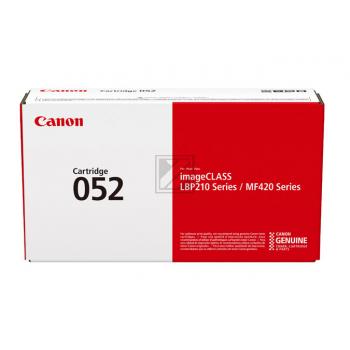Canon Toner-Kartusche schwarz (2199C002, 052)