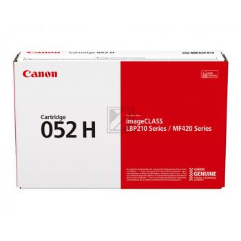 Canon Toner-Kartusche schwarz HC (2200C002, 052H)