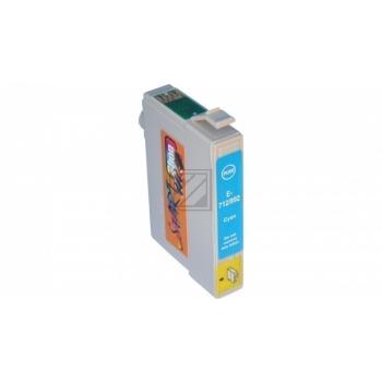 Ersatz Druckerpatrone kompatibel zu Epson T0712 Cyan
