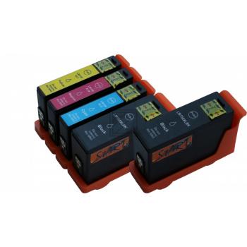 5 XL Ersatz Chip Druckerpatronen kompatibel zu Lexmark 150XL Schwarz, Cyan, Magenta, Gelb