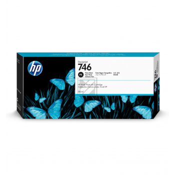 HP Tintenpatrone photo schwarz (P2V82A, 746)