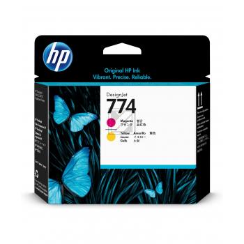 HP Tintendruckkopf magenta/gelb (P2V99A)