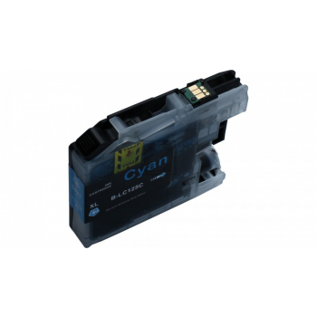 Compatible Ink Cartridge to Brother LC127 / LC125  (C) XL