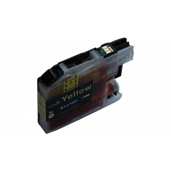 Compatible Ink Cartridge to Brother LC127 / LC125  (Y) XL