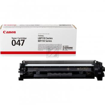 Canon Toner-Kartusche schwarz (2164C002, 047) Qualitätsstufe: B