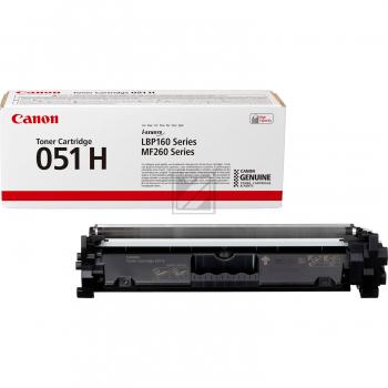 Canon Toner-Kartusche schwarz HC (2169C002, 051H)