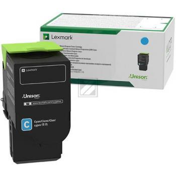 Lexmark Toner-Kartusche Return Program cyan HC plus (C242XC0)