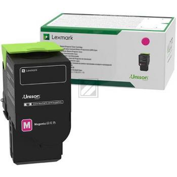 Lexmark Toner-Kartusche Return Program magenta HC plus (C242XM0)