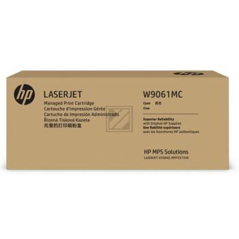 W9061MC HP E55040DW CARTRIDGE CYAN / W9061MC
