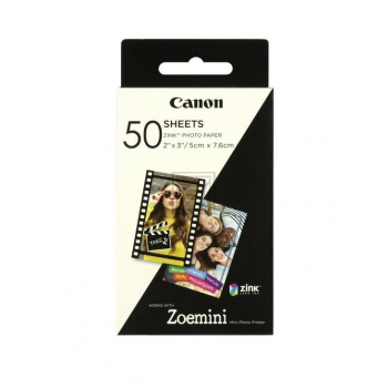 Canon Zink Papier Zink Papier weiß 50 Blatt 5 x 7.6 cm 290 g/m² (3215C002)