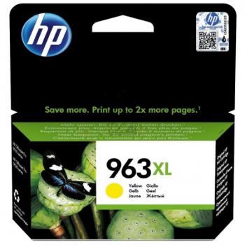 HP Tintendruckkopf gelb HC (3JA29AE#BGX, 963XL)