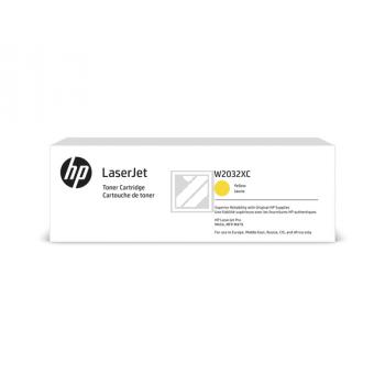 W2032XC HP LJ PROM454 CARTRIDGE YEL HC / W2032XC