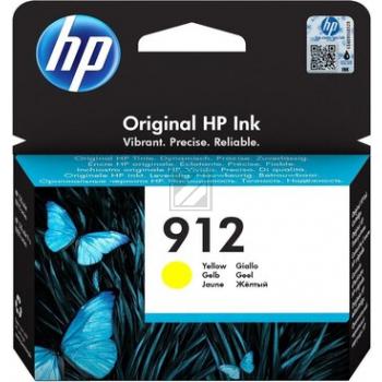 HP Tintenpatrone gelb (3YL79AE#301, 912)
