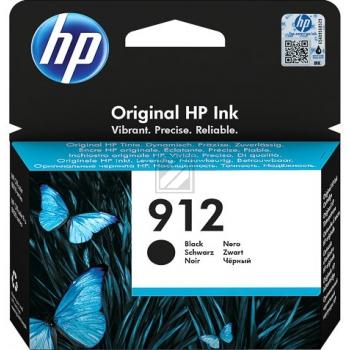 HP Tintenpatrone schwarz (3YL80AE#301, 912)