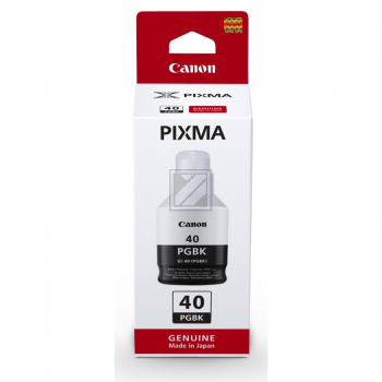 Canon Tintennachfüllfläschchen schwarz (3385C001, GI-40PGBK)
